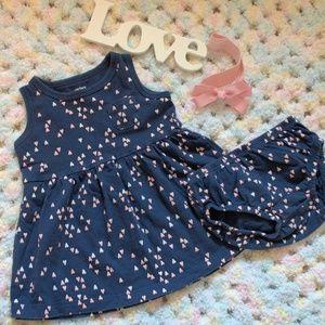 Carter's Sweat Heart Dress